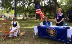 Cindy Russell, Manatee County History Fair 2015