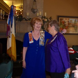 Regent Spry with Myakka Regent, Susan Stewart, 2015 Flag Day Luncheon