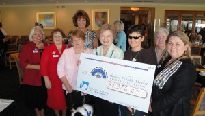 Donation to Paw's for Patriots 2011